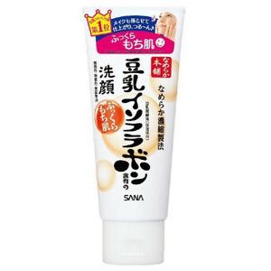 日本SANA莎娜豆乳美肌温和保湿洁面乳150g/SANA NAMERAKA HONPO ISOFLAVONE Cleansing Wash 150g