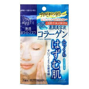 日本Kose高丝Clear Turn鲜粹面膜薏仁保湿提亮面膜单片/Kose Clear Turn Brightening Mask 1sheet