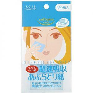 日本Kose高丝超快吸油纸60枚入