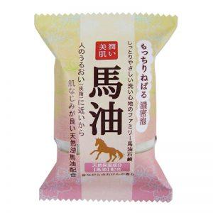 日本PELICAN超保湿无添加天然马油皂80g/Pelican Horse Oil Soap 80g