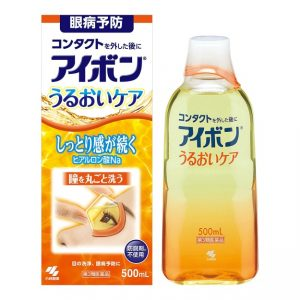 日本KOBAYASHI小林制药 洗眼液 #橘色 清凉度2~3 500ml 保湿滋润/KOBAYASHI Eye Wash #Orange Coolness 2~3 500ml