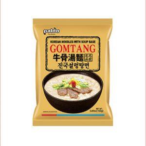 韩国Paldo八道牛骨汤面单包装102g/Paldo Gomtang Beef Bone Noodle Soup 102g