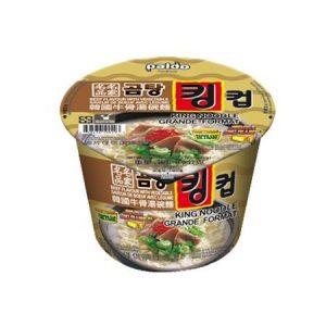 韩国Paldo名家牛骨汤面碗装105g/Paldo Gomtang Beef & Vegetable Flavor Noodle 105g