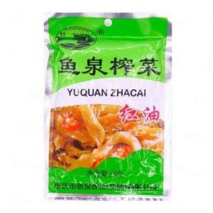 鱼泉红油榨菜60g