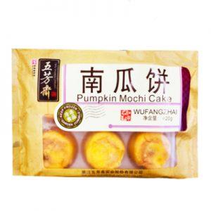 五芳斋南瓜饼6个装420g/WFZ Pumpkin Mochi Cake 6pcs 420g