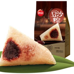 思念豆沙粽子(常温保存)2个装200g/SN Red Bean Rice Dumpling 2pcs 200g