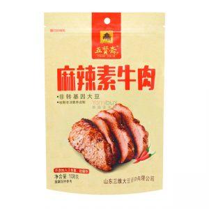 五贤斋麻辣素牛肉108g/WXZ Dried Bean Curd Hot Spicy Flavor 108g