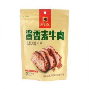 五贤斋酱香素牛肉108g/WXZ Dried Bean Curd Sauce Flavor 108g