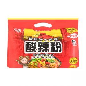 白家陈记四川特色风味酸辣粉5包装540g