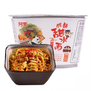 白家阿宽成都甜水面碗装270g/BJ ChengDu Sweet Spicy Noodles 270g