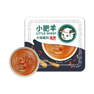 小肥羊火锅蘸料香辣味盒装140g/XFY Hot Pot Dipping Sauce Spicy Flavor 140g