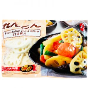 Jun速冻莲藕片(厚)400g/Jun Frozen Lotus Root Slice 400g