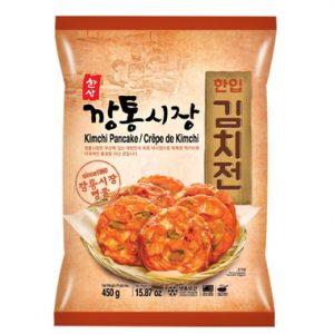 韩国冷冻泡菜麻薯煎饼450g/Korean Kimichi Pancake 450g