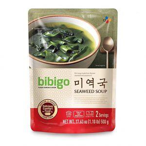 韩国CJ必品阁bibigo紫菜汤500g/CJ Bibigo Seaweed Soup 500g