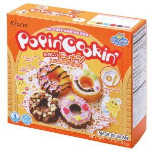 日本Kracie嘉娜宝POPINCOOKIN甜甜圈食玩41g