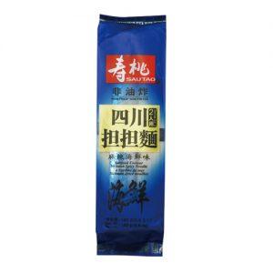 寿桃非油炸四川担担面麻辣海鲜味160g/Sautao Seafood Flavor Sichuan Spicy Noodle 160g