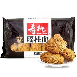 寿桃非油炸特级瑶柱面454g/Sautao Scallops Dried Noodle 454g