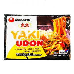 韩国Nongshim农辛生生日式章鱼小丸子风味炒乌冬251g/Nongshim Yaki Udon Japanese Stir Fried Udon Noodles 251g