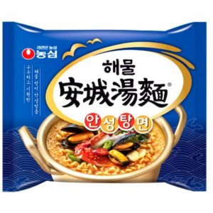 韩国Nongshim农辛海鲜安城汤面112g/Nongshim Seafood AnsungTang Myun 112g