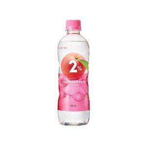 韩国Lotte乐天2%水蜜桃果汁350ml/Lotte 2% Peach Drink 350ml