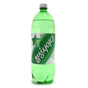 韩国Lotte乐天七星雪碧碳酸饮料1.5L/Lotte Chilsung Cider 1.5L