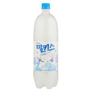 韩国Lotte乐天网红推荐Milkis牛乳乳酸菌饮料1.5L/Lotte Milkis Drink Original Flavor 1.5L