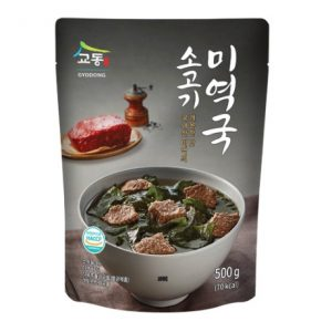韩国GYODONG韩式牛肉紫菜汤酱500g/GYODONG Foods Beef Seaweed Soup 500g