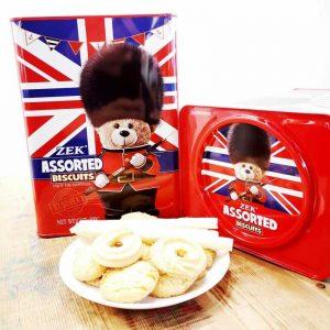 ZEK网红推荐丹麦饼干礼盒混装600g/ZEK Assorted Biscuits 600g