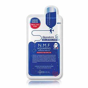 韩国MEDIHEAL美迪惠尔N.M.F补水保湿针剂水库里面膜单片入/MEDIHEAL N.M.F Aquaring Ampoule Mask 1Sheet
