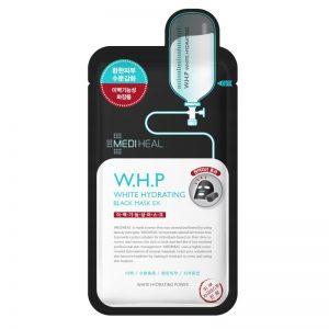 韩国MEDIHEAL美迪惠尔W.H.P美白保湿竹炭黑面膜单片入/MEDIHEAL W.H.P White Hydrating Black Mask 1sheet