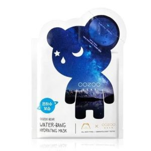 韩国The OOZOO Bear星空熊有机保湿面膜单片入/Oozoo Bear Water-Bang Hydrating Mask 1sheet