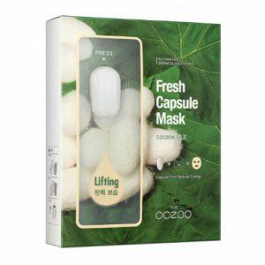 韩国The OOZOO蚕丝面膜5片入/The OOZOO Fresh Capsule Cocoon Silk 5sheets