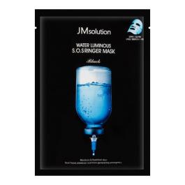韩国JM Solution水光炸弹水滋养急救针剂面膜1片入/JM Solution Water Luminous S.O.S Ringer Mask Black 1sheet