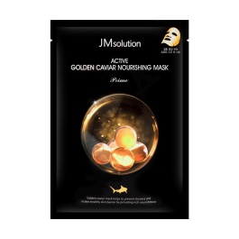 韩国JM Solution焕活黄金鱼子酱精致滋养面膜1片入/JM Solution Active Golden Caviar Nourishing Mask Prime 1sheet
