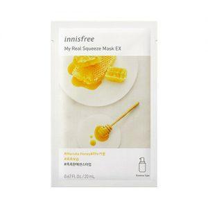 韩国INNISFREE悦诗风吟悦享鲜萃蜂蜜面膜单片入/INNISFREE My Real Squeeze Mask Honey 1sheet