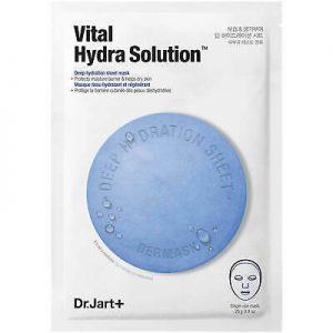 韩国DR.JART+蒂佳婷蓝色药丸深层补水保湿面膜单片入/Dr.JART+Dermask Water Jet Vital Hydra Solution Mask 1Sheet