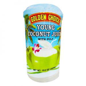 Golden Choice冷冻纯椰汁(内含果肉)300ml/GC Young Coconut Juice 300ml