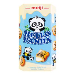 MEIJI明治Hello Panda牛奶夹心饼干50g/MEIJI Hello Panda Milk Biscuits 50g