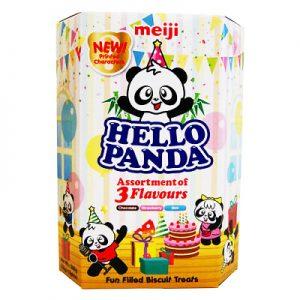 MEIJI明治Hello Panda巧克力夹心饼干3种口味混合装260g/MEIJI Hello Panda Mixed Flavor Chocolate Biscuits 260g