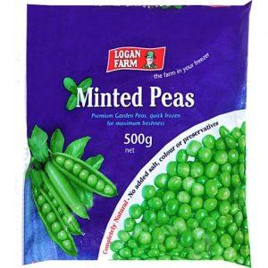 Logan Farm冷冻薄荷青豆500g/LF Frozen Minted Peas 500g