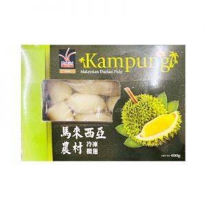 HANABI马来西亚冷冻榴莲果肉400g/HANABI Malaysian Durian Plup 400g