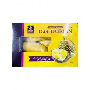HANABI马来西亚D24冷冻榴莲果肉400g/HANABI D24 Malaysian Durian Pulp 400g