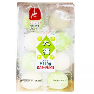 日本KIDO奇都大幅麻薯哈密瓜味200g/KIDO Melon DA-FUKU 200g