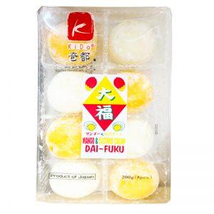 日本KIDO奇都大幅麻薯奶油芒果味200g/KIDO Mango&Custard Cream DA-FUKU 200g