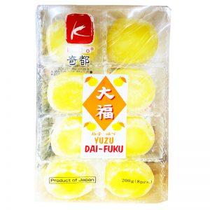 日本KIDO奇都大幅麻薯柚子味200g/KIDO YUZU DA-FUKU 200g