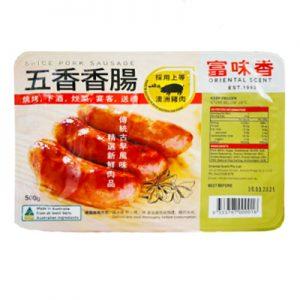 富味香冷冻五香香肠500g/FWX Frozen Spice Pork Sausage 500g