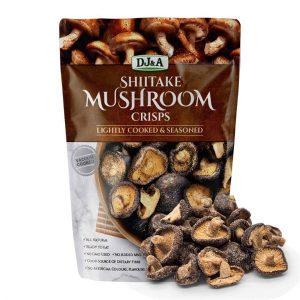 DJ&A超好吃脆蘑菇干65g/DJ&A Shiitake Mushroom Crisps 65g