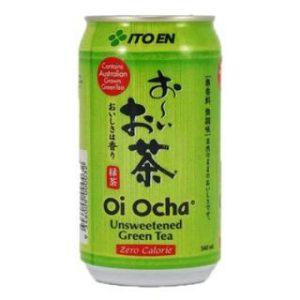 日本ITOEN伊藤园无糖抹茶绿茶340ml/ITOEN Unsweetened Oi Ocha 340ml