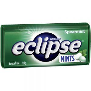 Eclipse超劲凉薄荷糖40g/Eclipse Spearmint Mints 40g