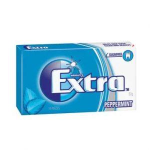 Extra清凉薄荷口香糖14片入27g/Extra Peppermint 14pcs 27g